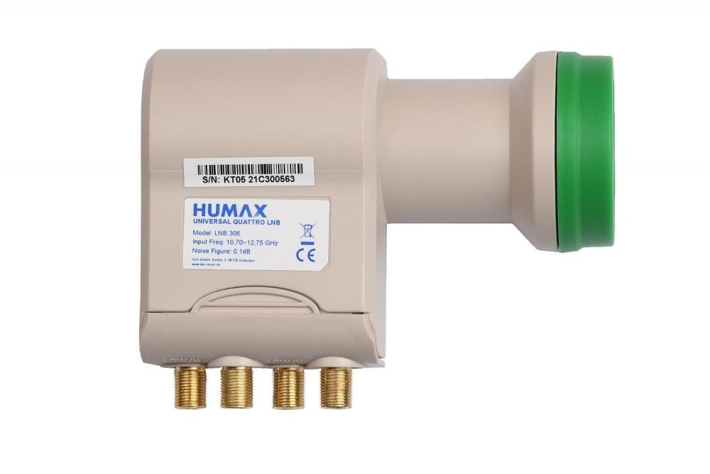 Humax Green Power LNB 306 Universal Quattro-LNB