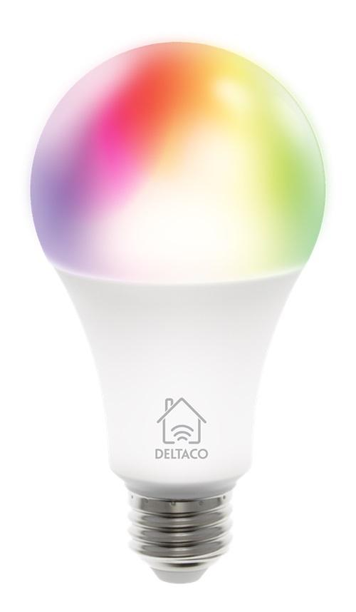 Deltaco SH-LE27RGB SMART HOME RGB LED Lampe E27