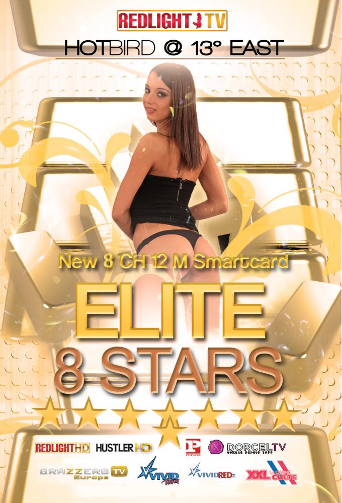 Redlight Elite 8 Stars Viaccess Smartkarte 12 Monate