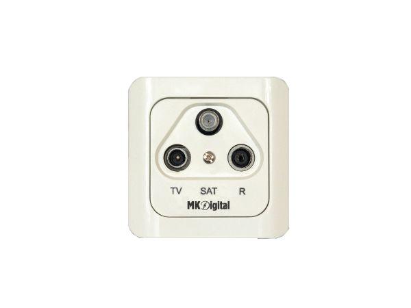 MK-Digital SD-300D Sat-Durchgangdose