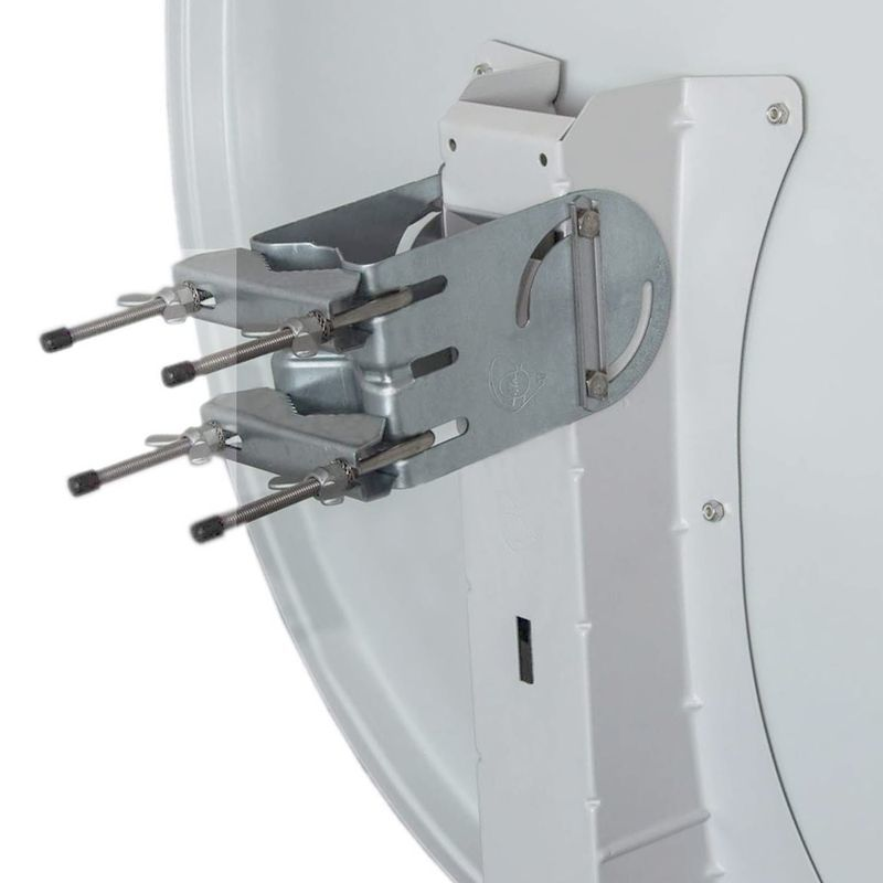 Gibertini Sat Antenne XP Premium 100cm Alu Sat Schüssel Spiegel Hellgrau