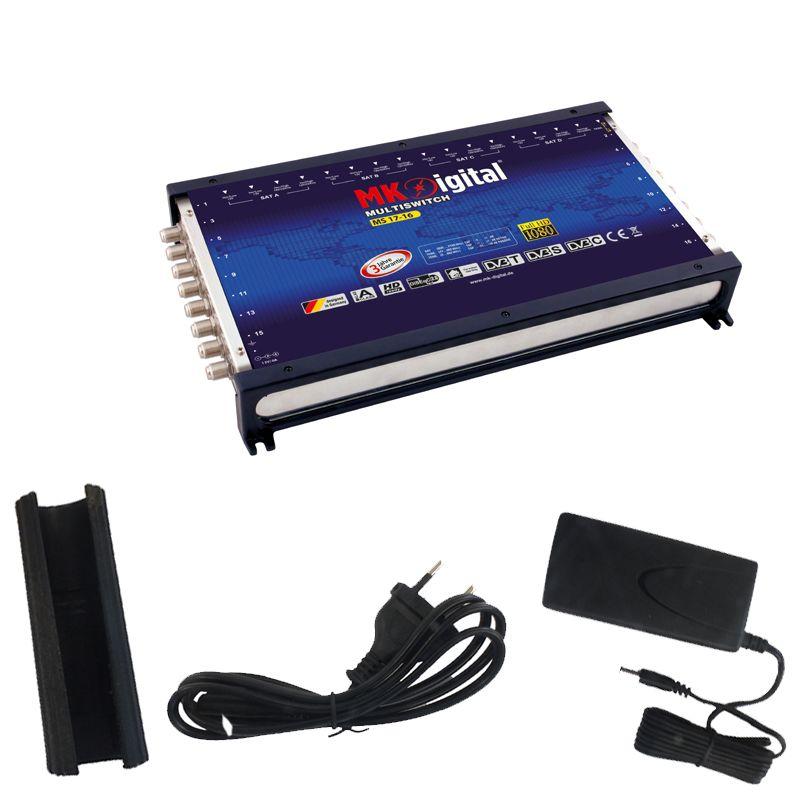 MK-Digital MS 17-16 Multischalter mit LED Kontrollleuchte