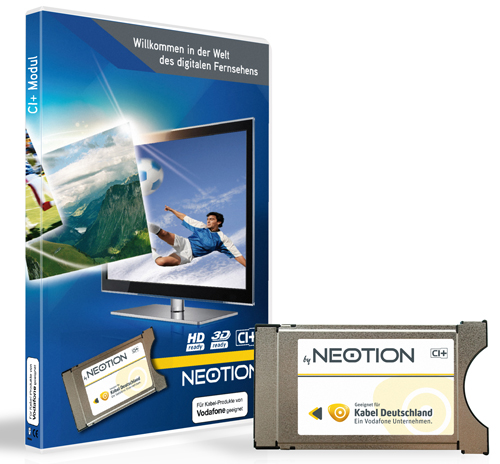 Neotion CI+ Modul für Vodafone / Kabel Deutschland G03 / G09 Karten