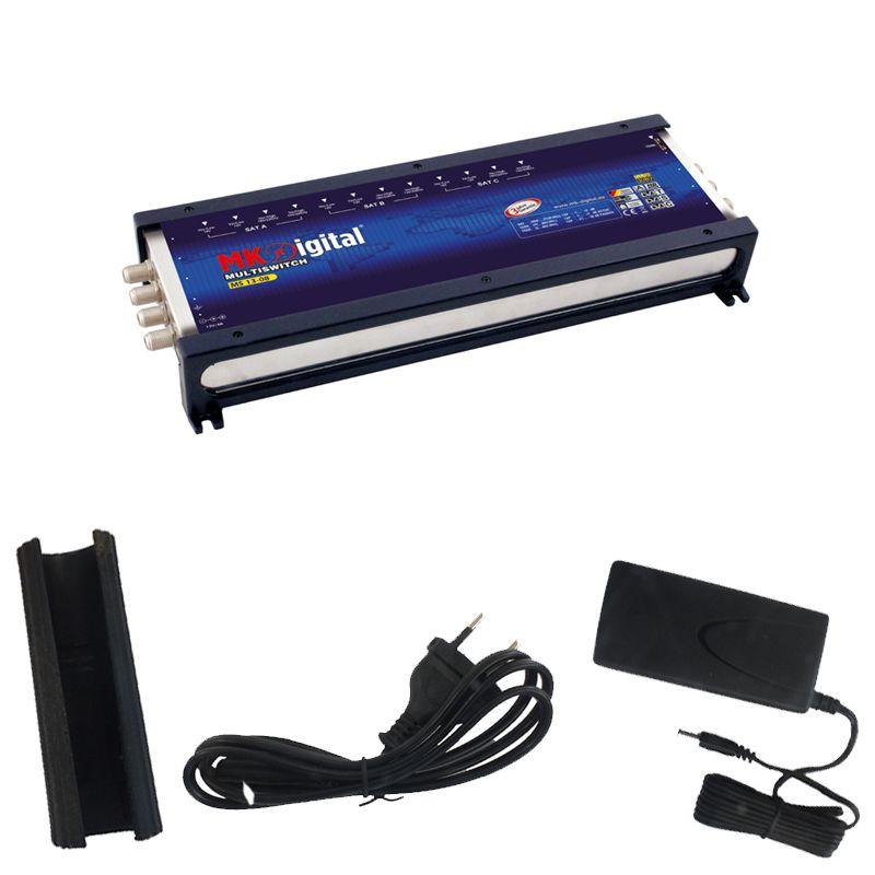 MK-Digital MS 13-08 Multischalter mit LED Kontrollleuchte