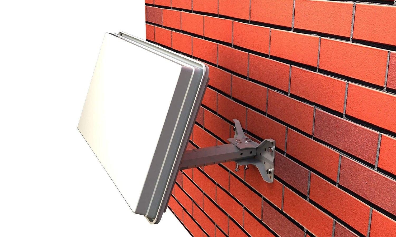 Selfsat H30D4 Flachantenne Quad LNB-Version 4 Teilnehmer