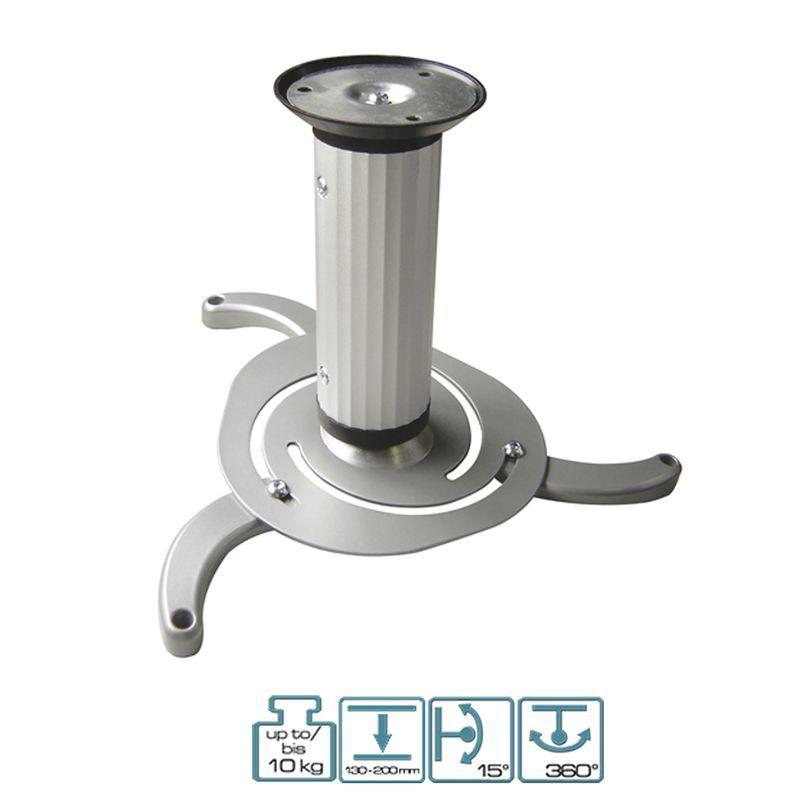 Deckenhalter für Beamer / Projektorhalterung Silber