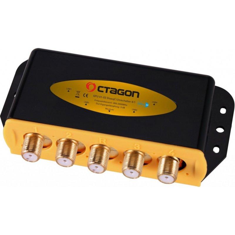 OCTAGON OPTIMA DiSEqC 4/1 ODS 41-02 HQ Gold
