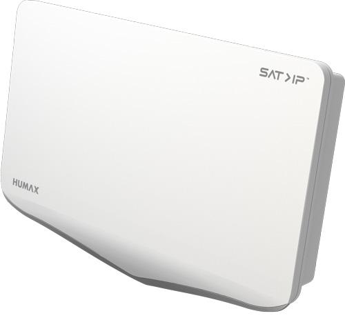 Humax Flat H 40 IP + Twin Sat Antenne
