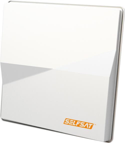 Selfsat H50M4 Multisat Antenne 6° Quad für Astra und Hotbird