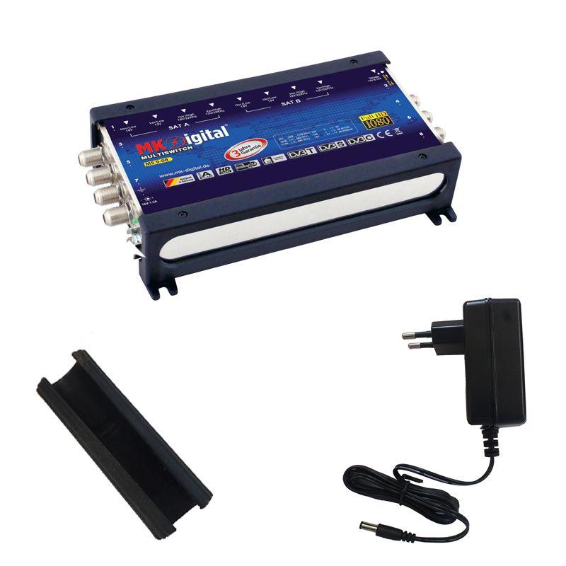 MK Digital MS 9-08 Multischalter mit LED-Anzeige