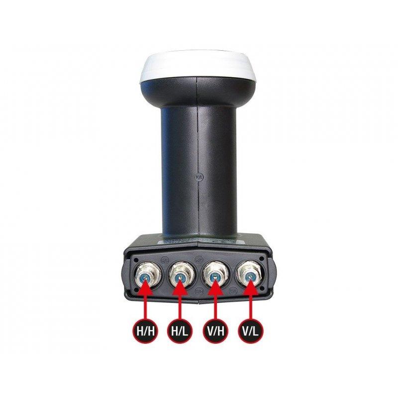 Edision Quattro LNB QL-4 Universal 0.1dB