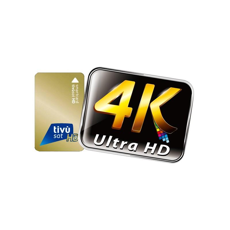 Tivusat Tivù Sat Mediaset Smartcard Carta Tivù sat attivo HD Karte