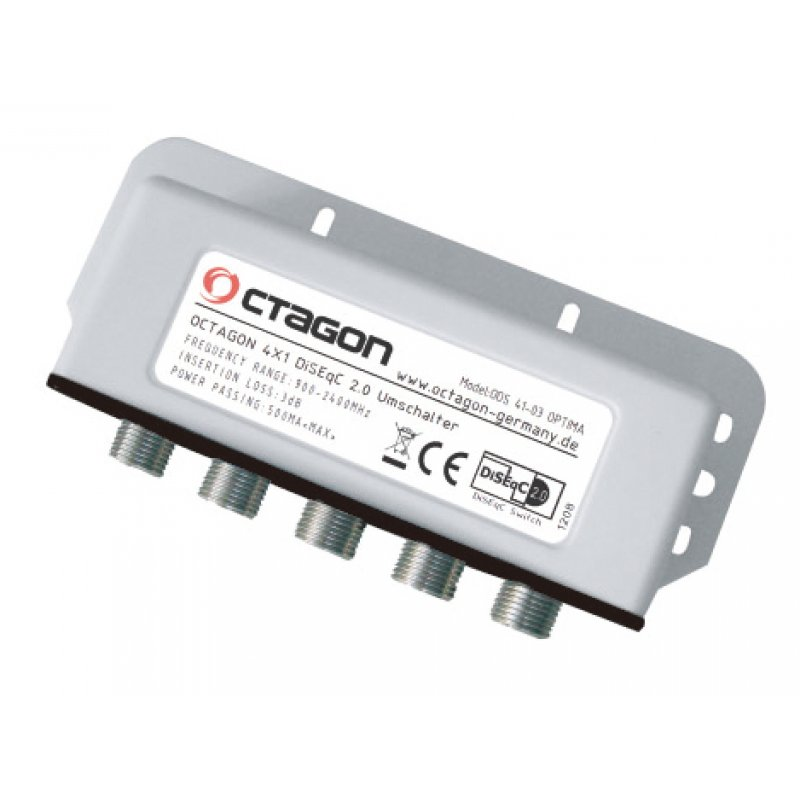 Octagon ODS 41-03 OPTIMA DiSEqC Schalter 4/1