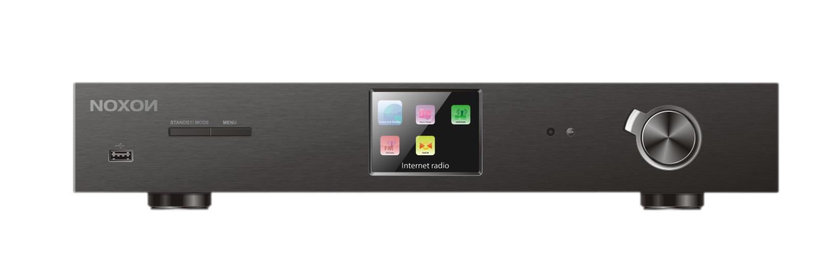 NOXON A570+ HiFi Komponente, Internetradio, DAB/DAB+, UKW Tuner & Spotify