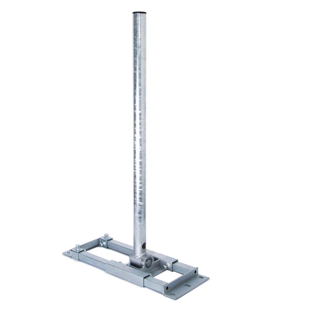 PremiumX DELUXE X90-48 Dachsparrenhalter 90cm Mast für Satellitenantenne Sparrenhalter