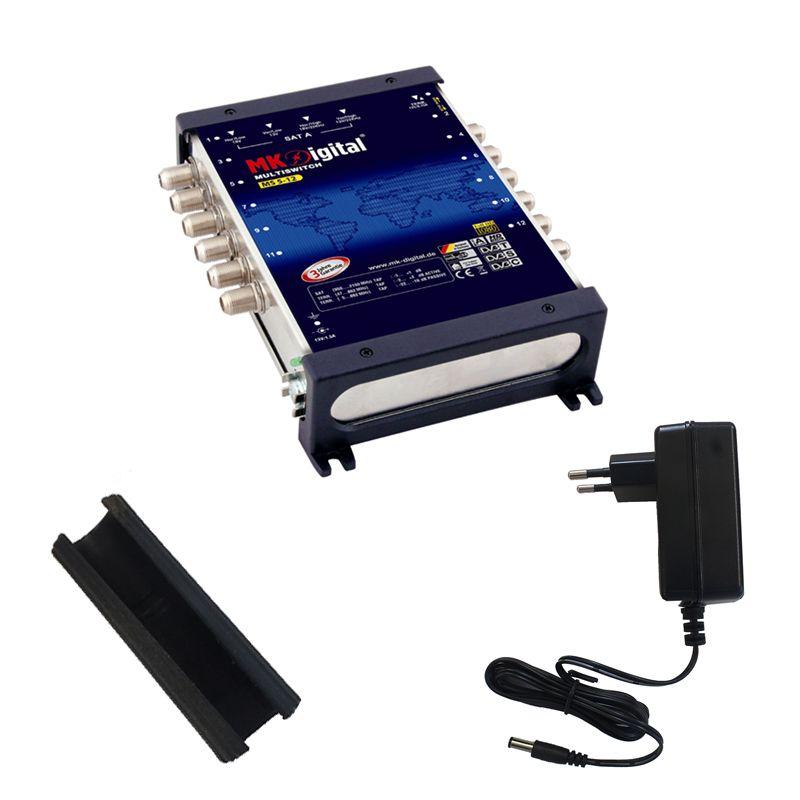 MK-Digital MS 5-12 Multischalter mit LED Kontrollleuchte