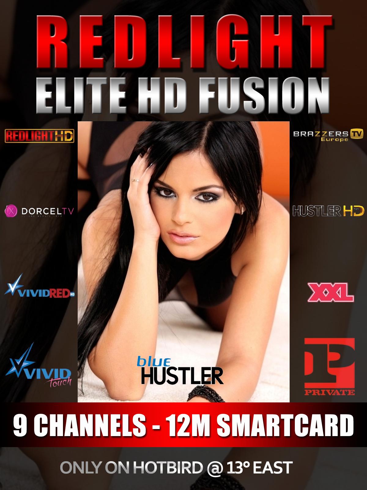 Redlight Elite HD Fusion 9 Sender Viaccess Karte