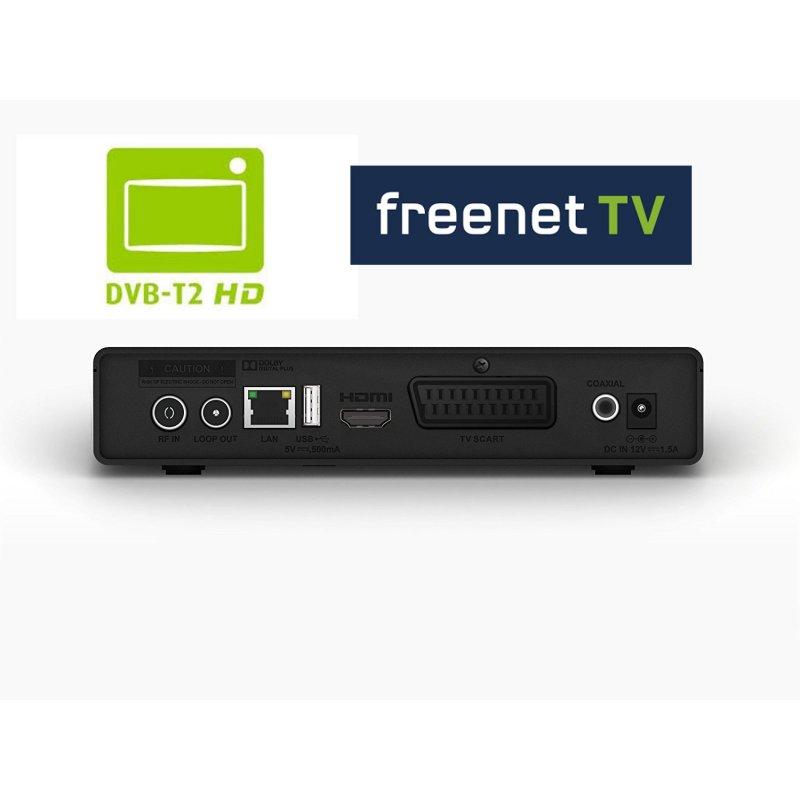 Philips DTR3442B DVB-T2 HD Receiver mit PVR und Netzwerk