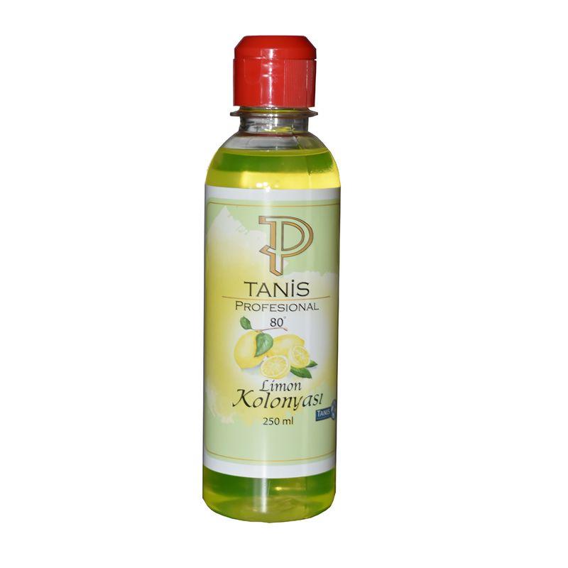 Tanis After Shave Duftwasser Lemon Cologne 80° 4x 250 ml Limon Kolonyasi