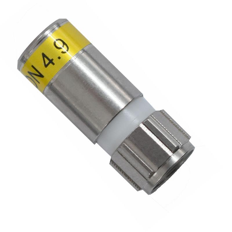 Cabelcon F-6-TD 4.9 HQ F-Kompressions Stecker