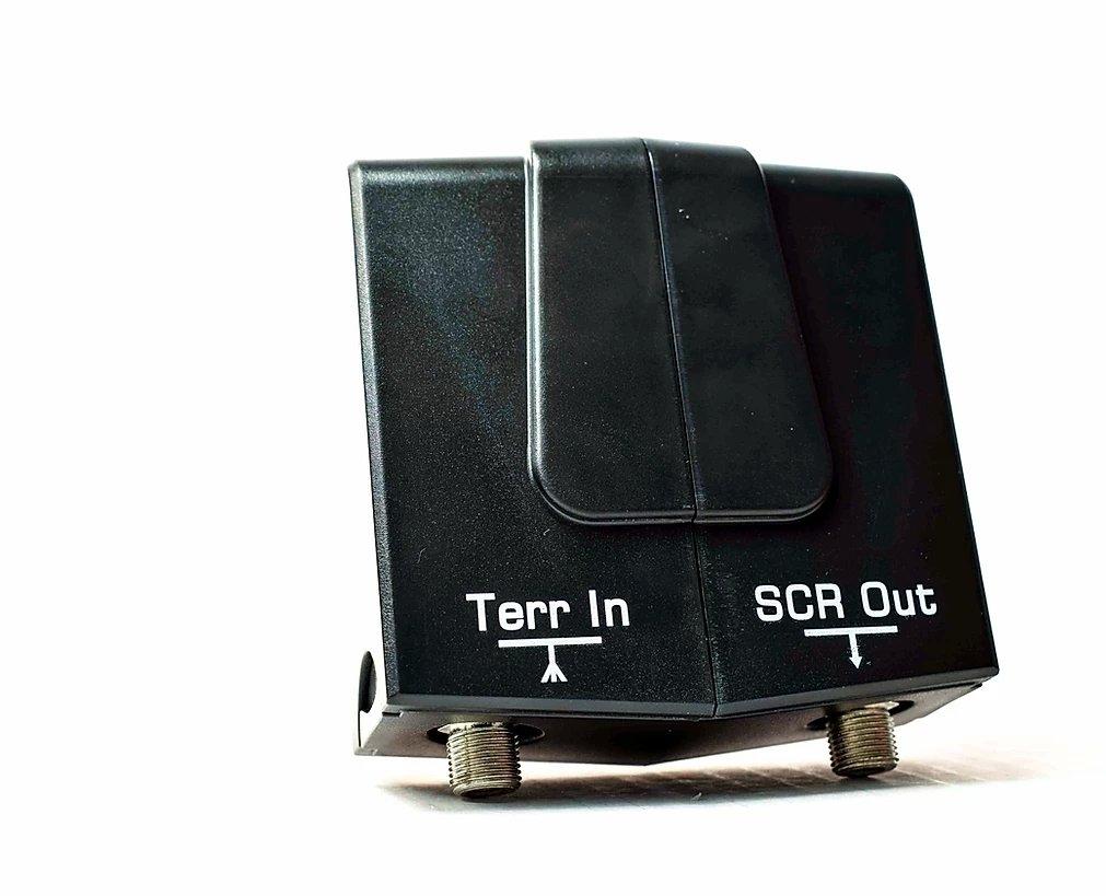 GT-SAT Unicable-LNB GT-dLNB1T 24UB für bis zu 24 Teilnehmer inkl. DVB-T/T2 Eingang - 4K/UHD