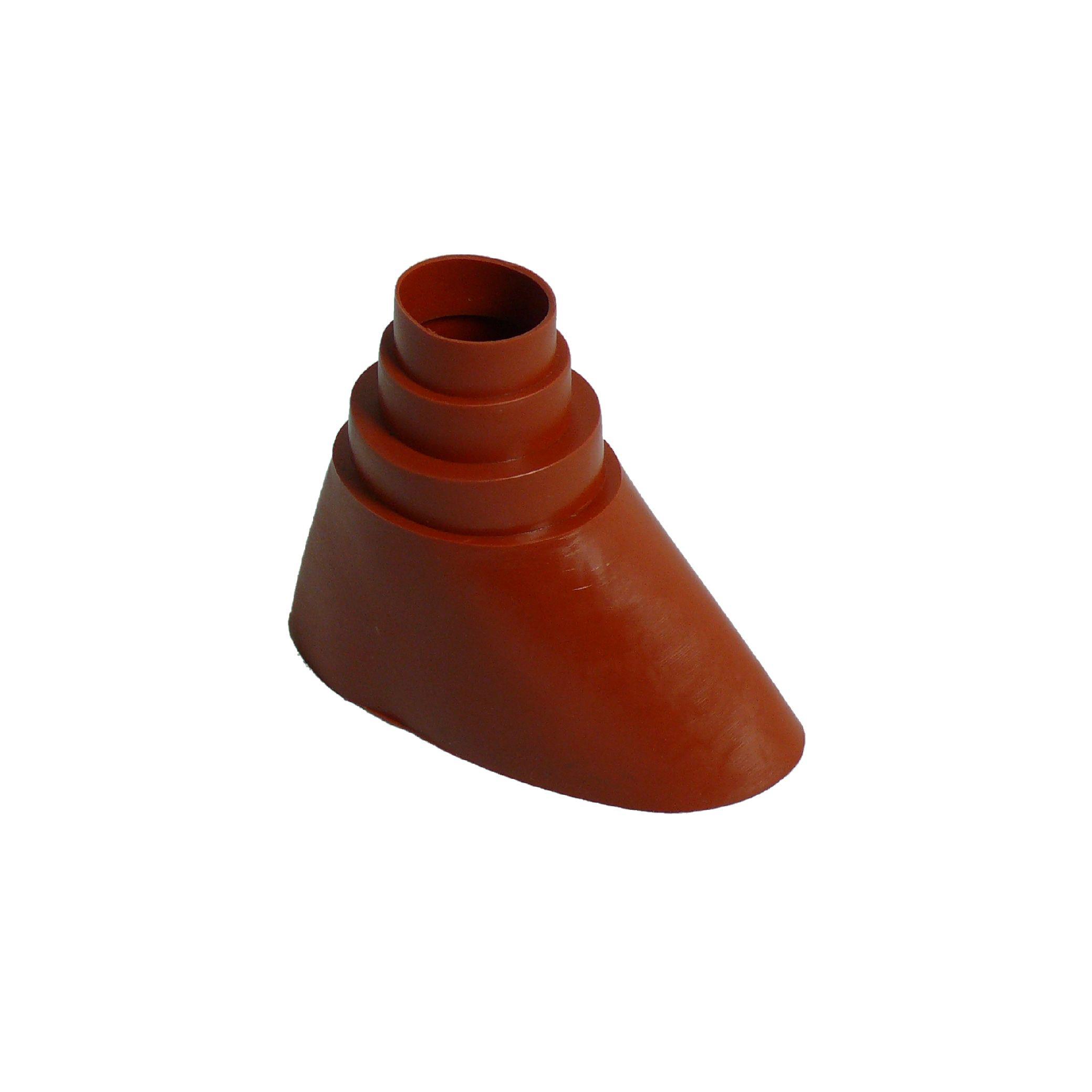 A.S.SAT Mast-Gummitülle Ø 38-60mm universal rot