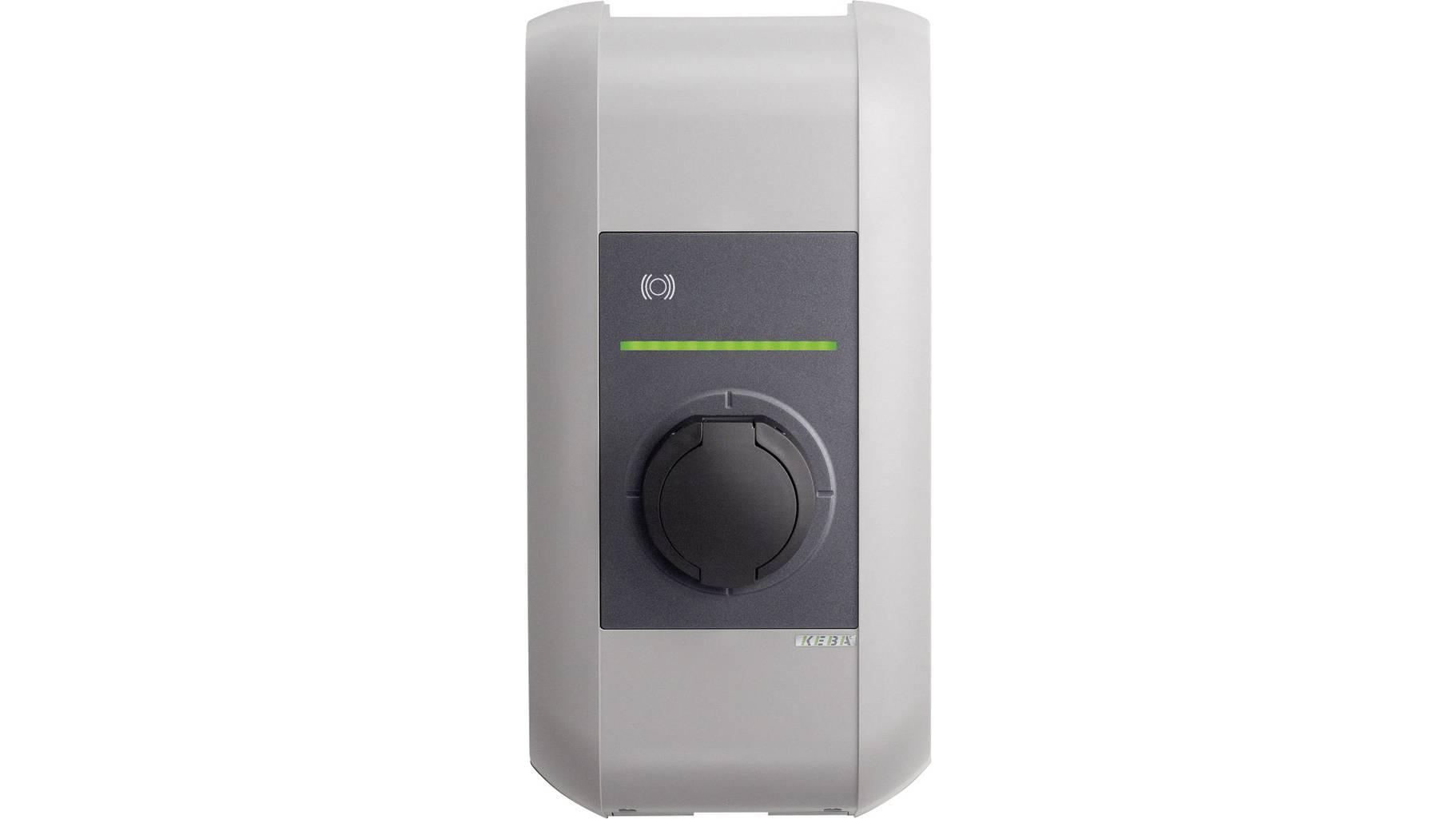 KEBA Wallbox 98.131 KeContact P30b-serie, 22KW, Steckdose, RFID