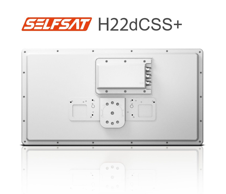 Selfsat H22dCSS+ Unicable 2 Antenne incl. 2 Legacy Ausgängen