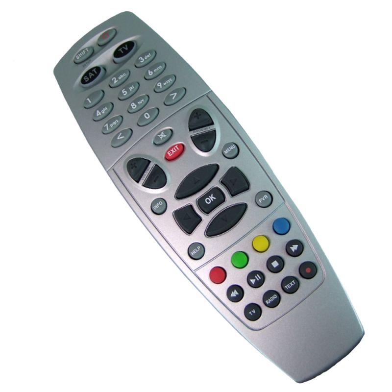 Fernbedienung für Dreambox 600/7000/7020/500HD/800HD/7020HD/8000HD silber
