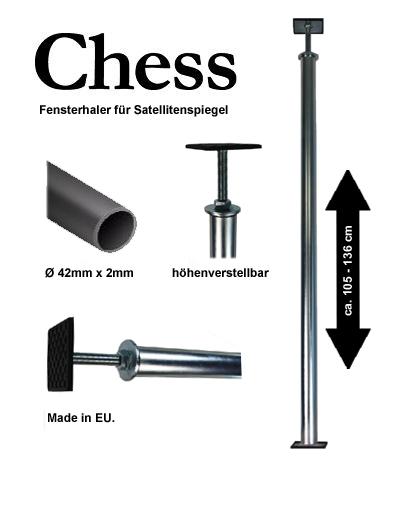 Chess Fensterhalter für Sat-Spiegel