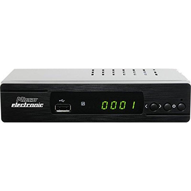 Micro Electronic M380 plus HD 1080p FULL HD Sat Receiver HDMI, LAN, Scart, EPG, USB Mediaplayer