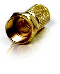 Chess F-Stecker 7mm vergoldet