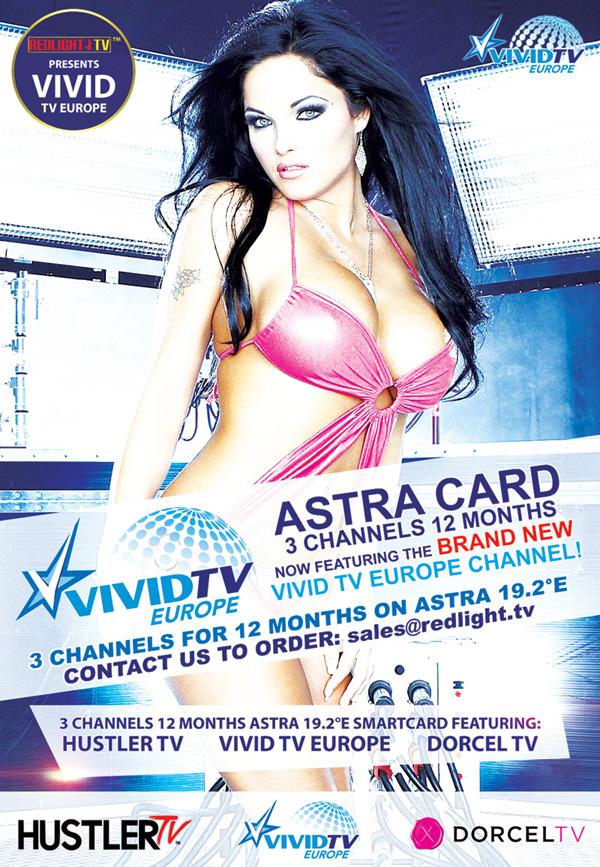 Hustler TV / Dorcel TV / VIVID TV / Dorcel XXX ASTRA Viaccess Karte