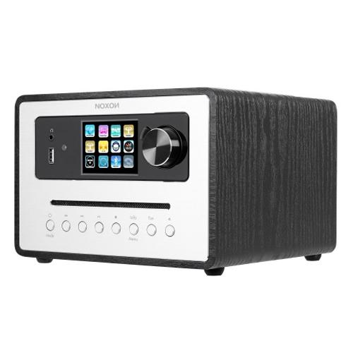 NOXON iRadio 500 CD DAB/DAB+, UKW, Internetradio, Farbdisplay Schwarz