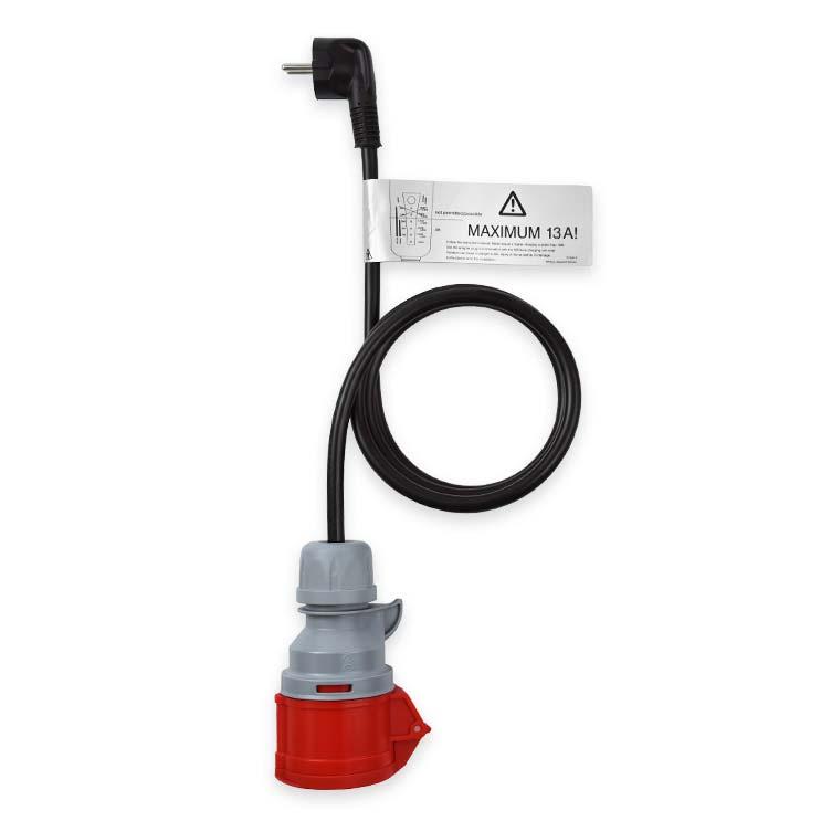 NRGkick Adapter mit Erkennungsfunktion - CEE 16A auf Schuko - 20203