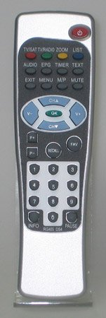 LogiSat RG405DS4 Fernbedienung 340 HDMI / 58S