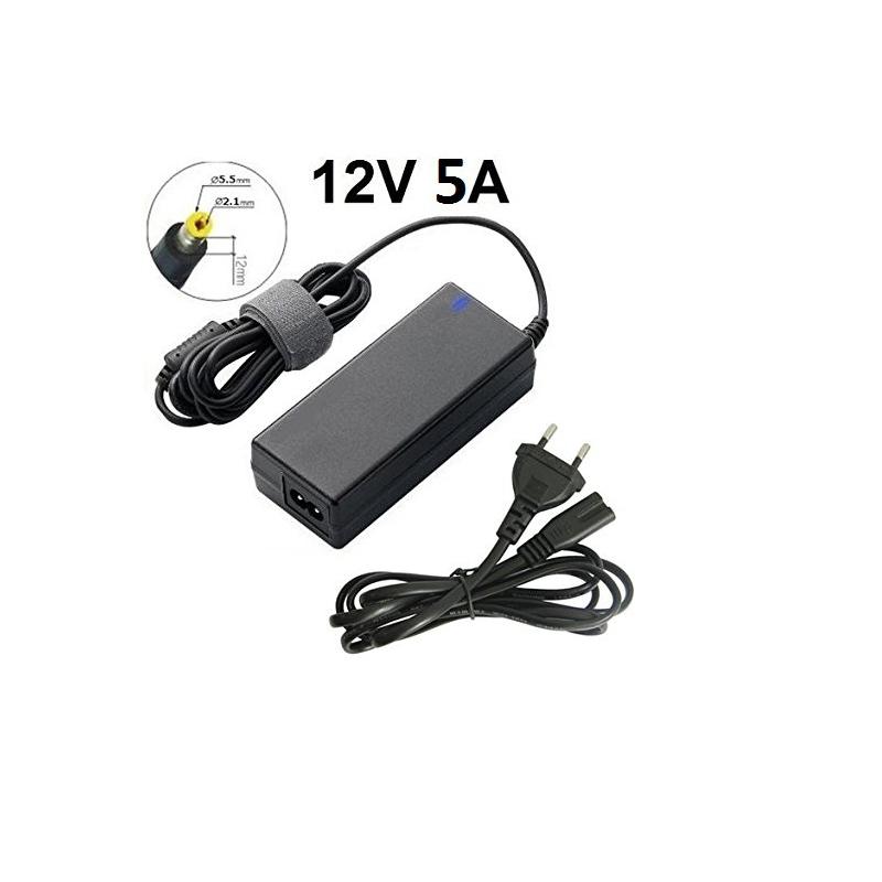 Ladegerät Netzteil Ladekabel 12V 5A 60W Notebook,Laptop,Monitor