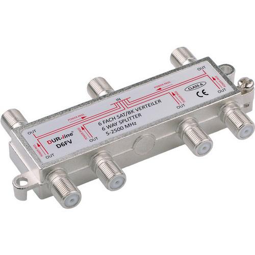 DUR-line BK-SAT- 6-fach Verteiler - Unicable tauglich