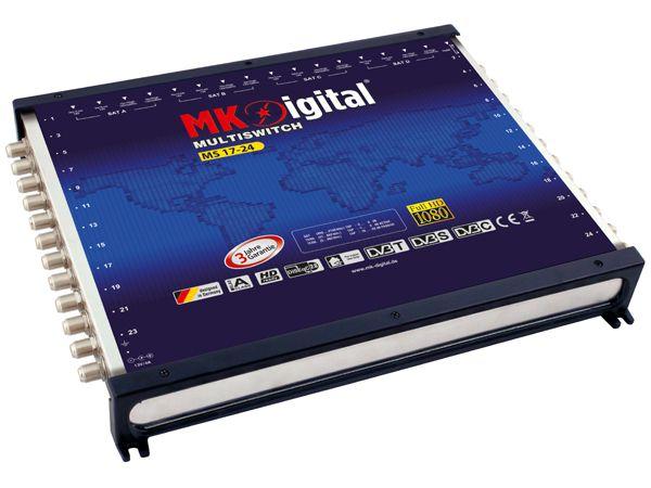 MK-Digital MS 17-24 Multischalter mit LED Kontrollleuchte
