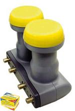 Humax Monoblock Quad LNB 246