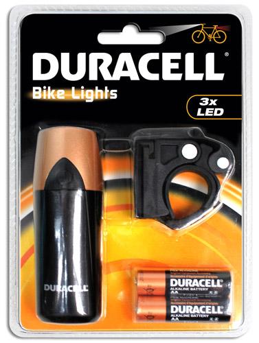 Duracell Bike Lights F01 (BIK-F01WDU) LED Beleuchtung