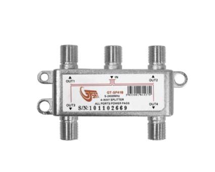 GT-SAT SAT-Signalverteiler - 4-fach Splitter