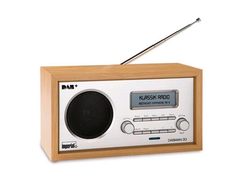 Imperial DABMAN 30 DAB/ DAB+/ UKW Digitalradio schwarz
