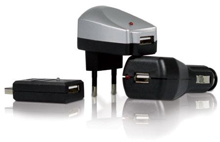 Universerselles Ladegerät 12V/230V/USB