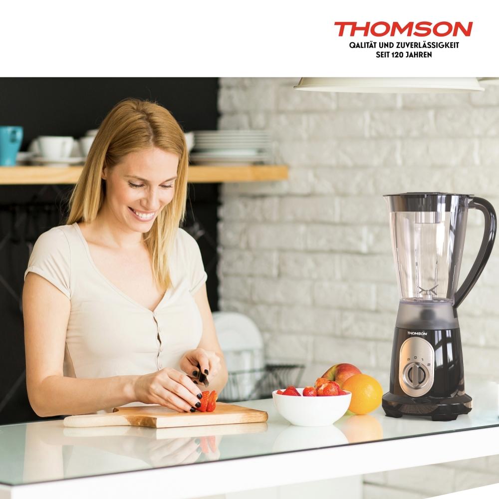 Thomson THBL96BC Standmixer Blender Smoothie Mixer Edelstahlklingen