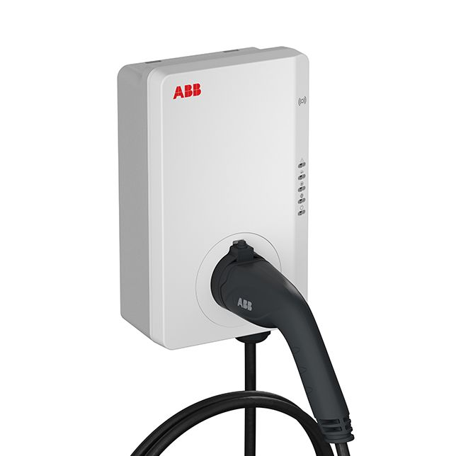 ABB Terra AC Wallbox / Wandladestation 11 KW, 5m Kabel, RFID (TAC-W11-G5-R-0) (Hersteller-Artikelnr. 6AGC082156)