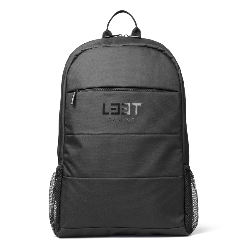 L33T Gaming-Rucksack LIGHT für 15,6 Zoll Geräte schwarz