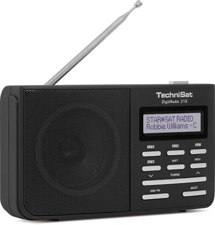TechniSat DigitRadio 210 DAB+/DAB & UKW Radio