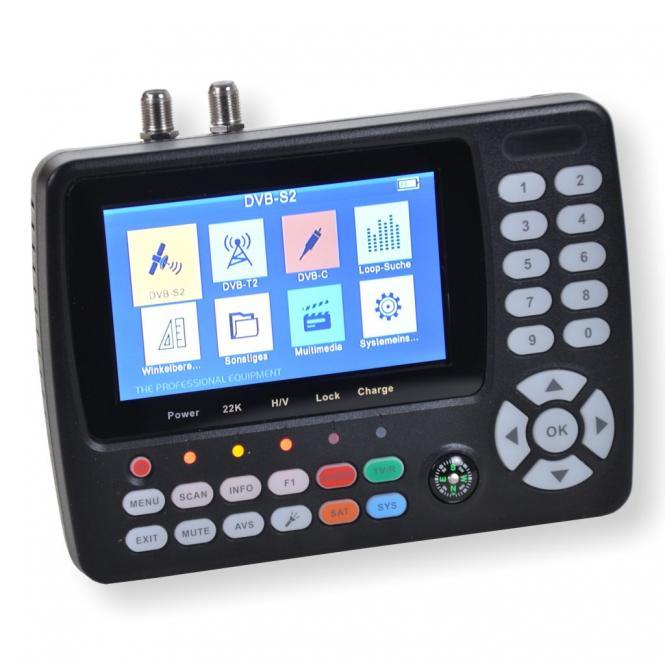 Summit SCT 845 Satfinder Kombi Messgerät DVB-S/S2 + C/T/T2