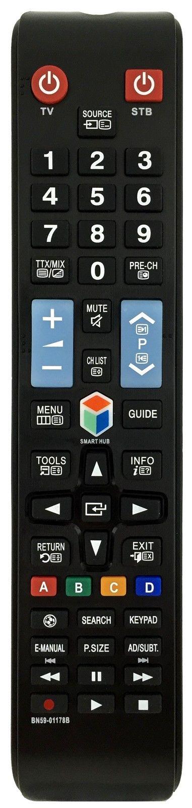 Ersatz Fernbedienung passend für Samsung TV's BN59-01178B
